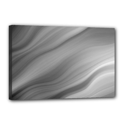 Wave Form Texture Background Canvas 18  X 12