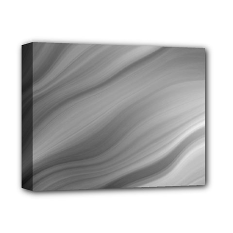 Wave Form Texture Background Deluxe Canvas 14  X 11