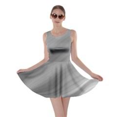 Wave Form Texture Background Skater Dress