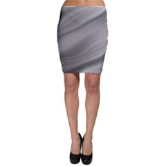 Wave Form Texture Background Bodycon Skirt