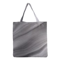 Wave Form Texture Background Grocery Tote Bag