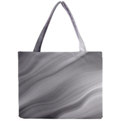 Wave Form Texture Background Mini Tote Bag