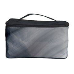 Wave Form Texture Background Cosmetic Storage Case