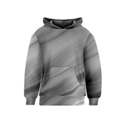 Wave Form Texture Background Kids  Pullover Hoodie