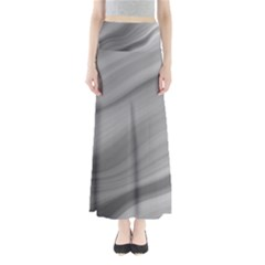 Wave Form Texture Background Maxi Skirts