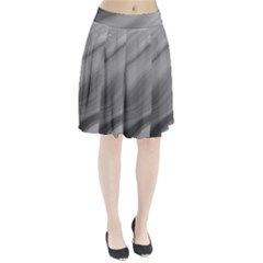 Wave Form Texture Background Pleated Skirt