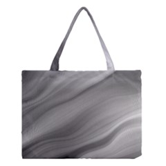 Wave Form Texture Background Medium Tote Bag