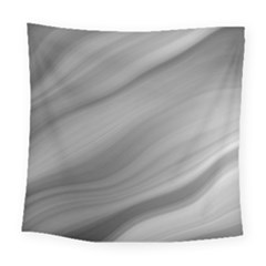 Wave Form Texture Background Square Tapestry (Large)