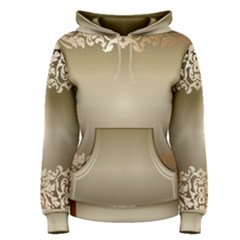 Floral Decoration Women s Pullover Hoodie