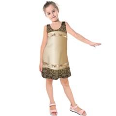 Floral Kids  Sleeveless Dress