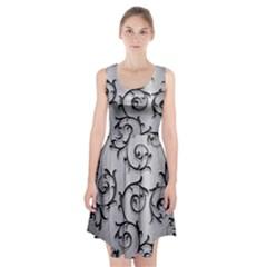 Floral Racerback Midi Dress