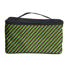 Mardi Gras Checker Boards Cosmetic Storage Case