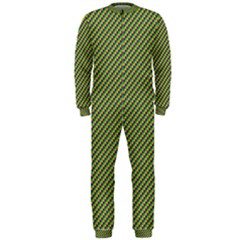 Mardi Gras Checker Boards OnePiece Jumpsuit (Men)