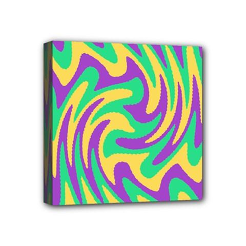 Mardi Gars Mini Canvas 4  x 4