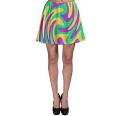 Mardi Gars Skater Skirt