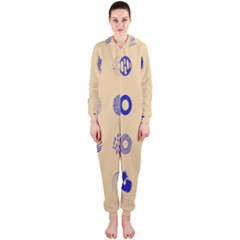 Art Prize Eight Sign Hooded Jumpsuit (Ladies)