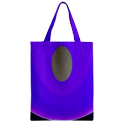 Ceiling Color Magenta Blue Lights Gray Green Purple Oculus Main Moon Light Night Wave Zipper Classic Tote Bag