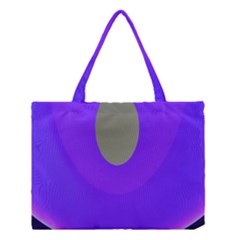 Ceiling Color Magenta Blue Lights Gray Green Purple Oculus Main Moon Light Night Wave Medium Tote Bag