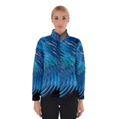 Waves Wave Water Blue Hole Black Winterwear
