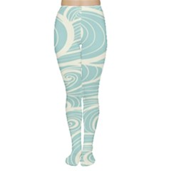 Blue Waves Women s Tights