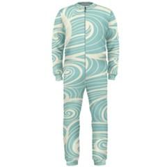 Blue Waves OnePiece Jumpsuit (Men)