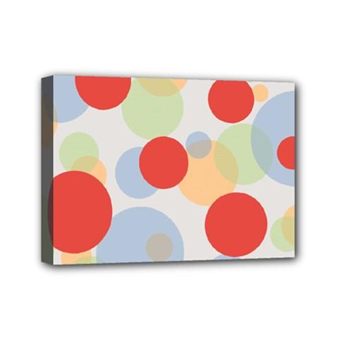 Contrast Analogous Colour Circle Red Green Orange Mini Canvas 7  x 5