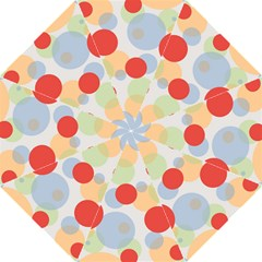 Contrast Analogous Colour Circle Red Green Orange Folding Umbrellas