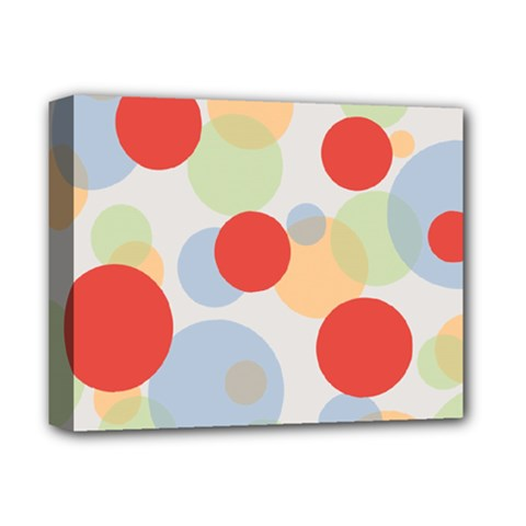Contrast Analogous Colour Circle Red Green Orange Deluxe Canvas 14  x 11