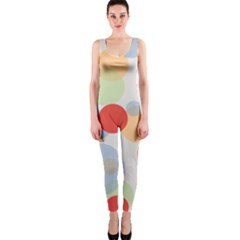 Contrast Analogous Colour Circle Red Green Orange Onepiece Catsuit
