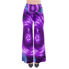 Colors Light Blue Purple Hole Space Galaxy Pants