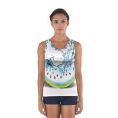 Fruit Water Slice Watermelon Women s Sport Tank Top