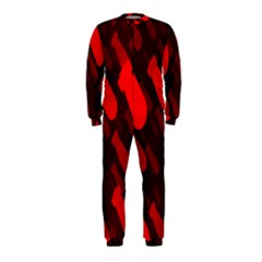 Missile Rockets Red OnePiece Jumpsuit (Kids)