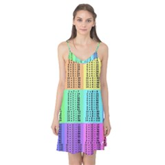 Multiplication Printable Table Color Rainbow Camis Nightgown