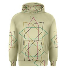 Shape Experimen Geometric Star Sign Men s Pullover Hoodie