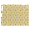 Gold Geometric Plaid Circle Apple iPad 3/4 Hardshell Case View1