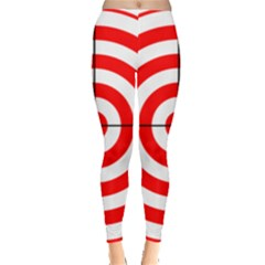 Sniper Focus Target Round Red Leggings