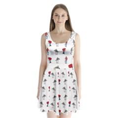 Hotline Bling Split Back Mini Dress