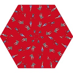 Hotline Bling Red Background Mini Folding Umbrellas