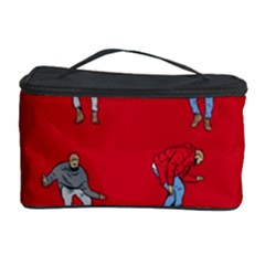 Hotline Bling Red Background Cosmetic Storage Case