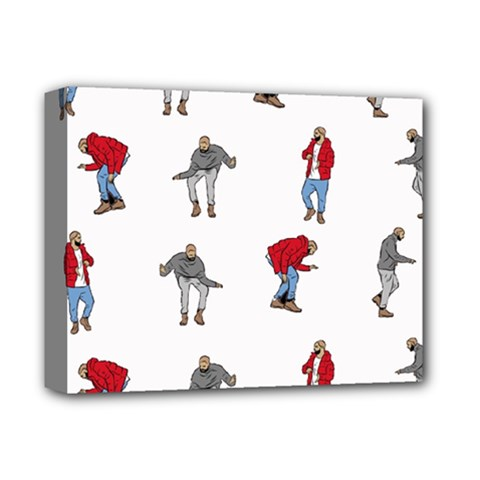 Hotline Bling White Background Deluxe Canvas 14  x 11