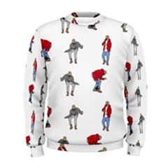 Hotline Bling White Background Men s Sweatshirt