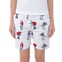 Hotline Bling White Background Women s Basketball Shorts