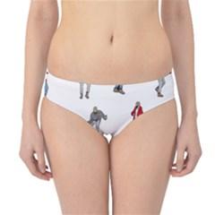 Hotline Bling White Background Hipster Bikini Bottoms