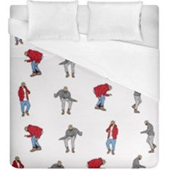 Hotline Bling White Background Duvet Cover (King Size)