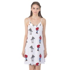 Hotline Bling White Background Camis Nightgown