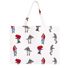 Hotline Bling White Background Large Tote Bag