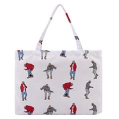 Hotline Bling White Background Medium Zipper Tote Bag