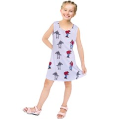 Hotline Bling White Background Kids  Tunic Dress