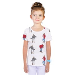 Hotline Bling White Background Kids  One Piece Tee