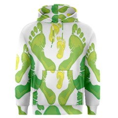 Soles Feet Green Yellow Family Men s Pullover Hoodie